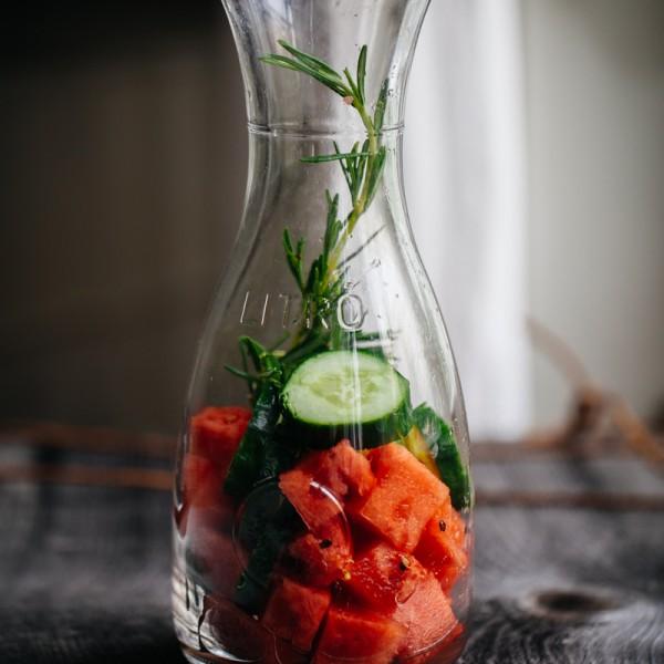 FruWo (fruit water) mit Wassermelone