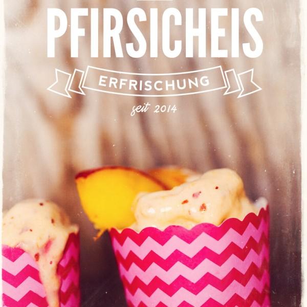 Pfirsicheis - Erfrischung garantiert