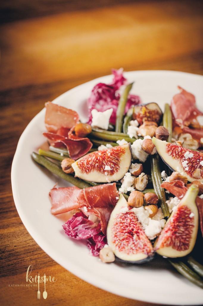 Bohnensalat mit Feigen-86