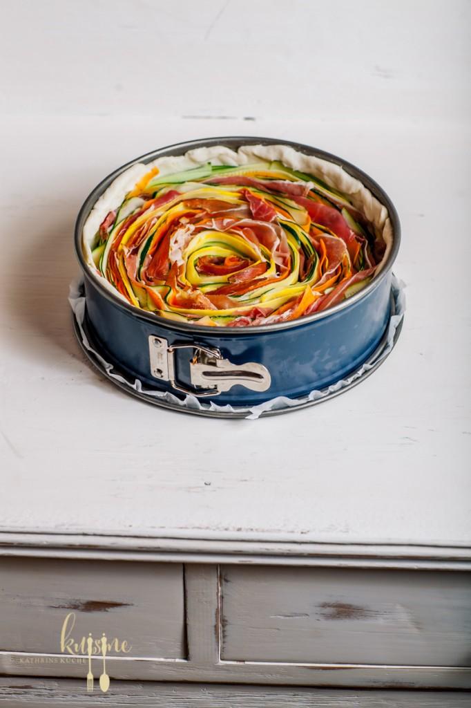 Gerollter Gemüsekuchen-45