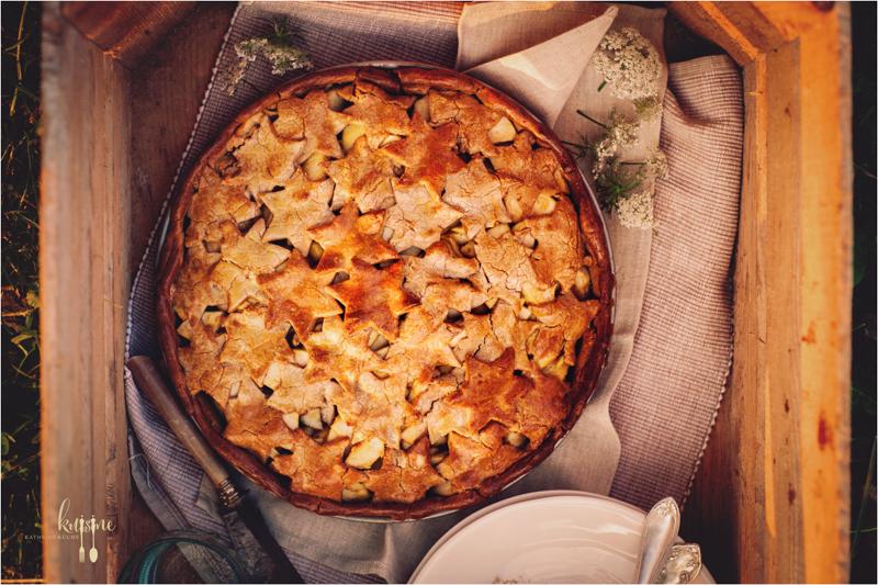 Apple Pie mit Kastanienmehl 1