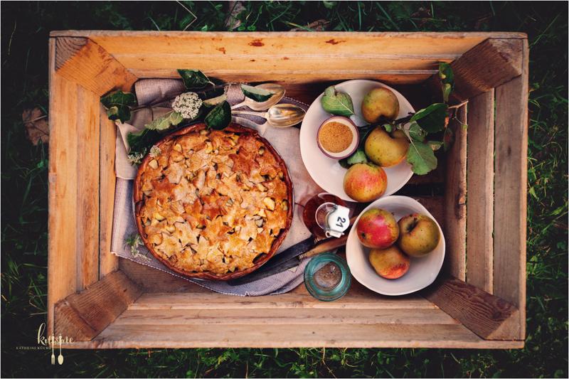 Apple Pie mit Kastanienmehl 17