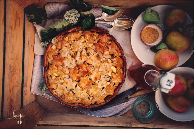 Apple Pie mit Kastanienmehl 18