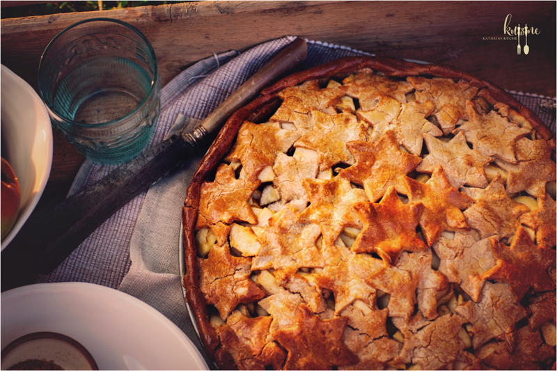 Apple Pie mit Kastanienmehl 2