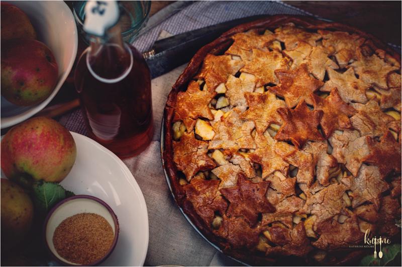 Apple Pie mit Kastanienmehl 22
