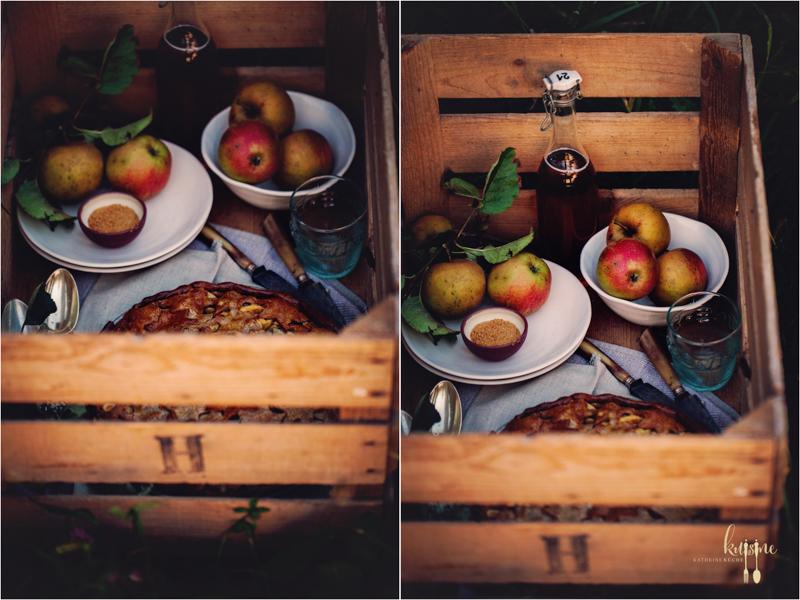 Apple Pie mit Kastanienmehl 27