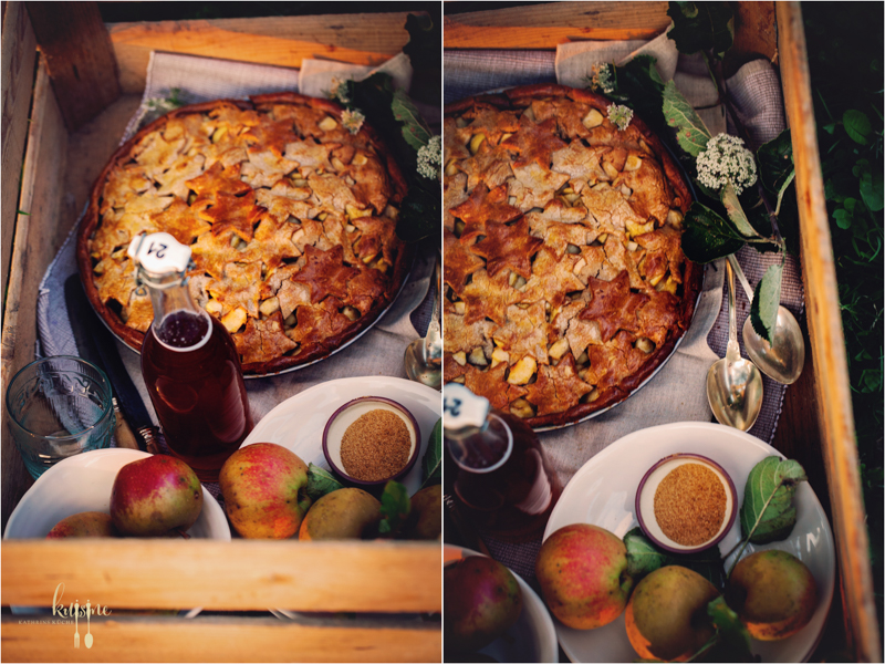 Apple Pie mit Kastanienmehl 6