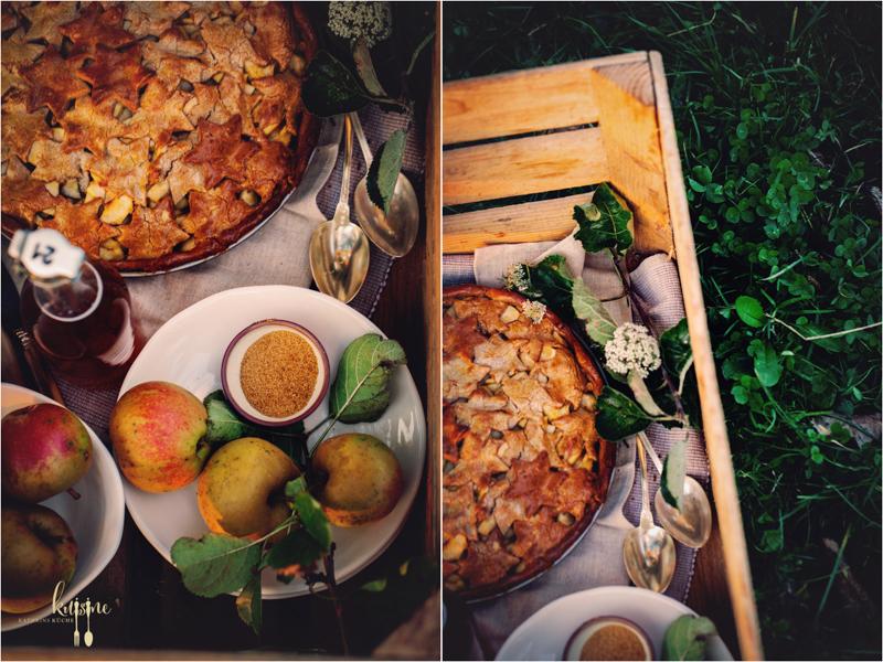 Apple Pie mit Kastanienmehl 7
