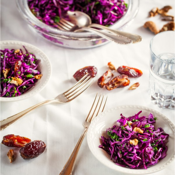 Rotkohlsalat - red cabbage salad