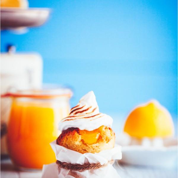 Zitronen Cupcakes mit Meringue - lemon meringue cupcakes