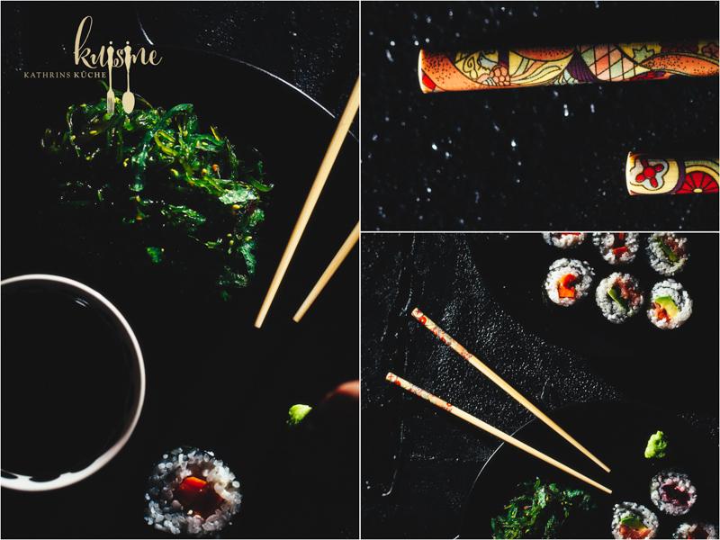 Sushi rolls - 16