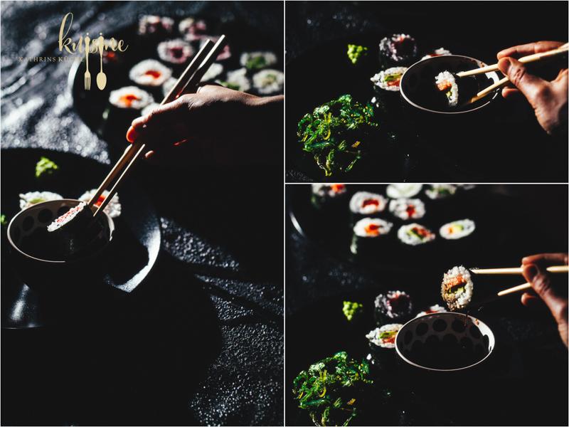 Sushi rolls - 18
