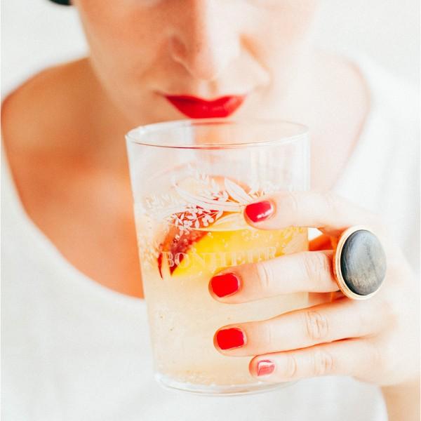Erfrischender Drink mit SodaStream