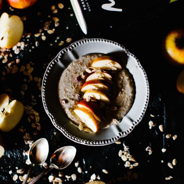 Mohn-Vanille Porridge
