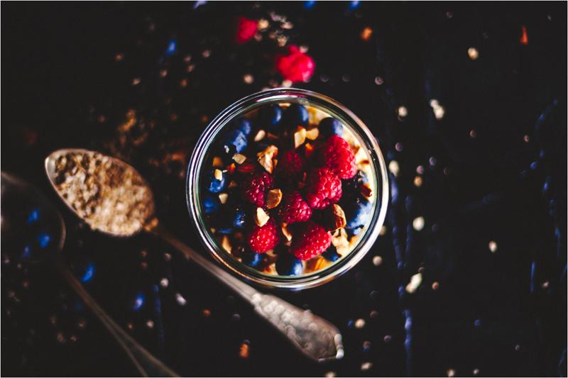 Beeren Porridge - porridge with berries